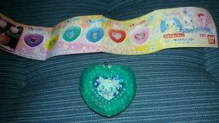 寶石寵物 扭蛋綠藍色