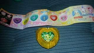 寶石寵物 扭蛋綠黃色