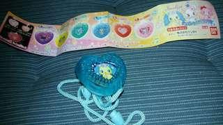 寶石寵物 扭蛋藍黃色