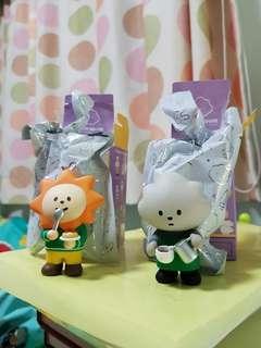 (🙇♀️🙇♀️灰雲先生已售)Fluffy House Fluffy Cafe Mr. Grey Cloud & Sunny
