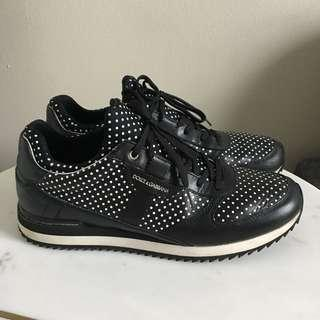 Dolce & Gabanna Leather Sneakers Size 40