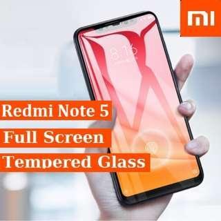Xiaomi Redmi Note 5 Temepered Glass Screen protector