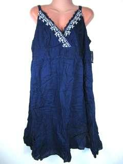 Faded Glory embroidered dress