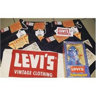 LEVIS VINTAGE CLOTHING 1955's