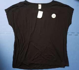 Clothing & Co Black Maternity & Nursing Top