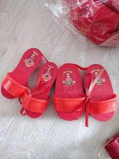 Wedding Gou Da Li Couple Slippers