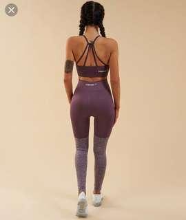Gymshark two-tone leggings