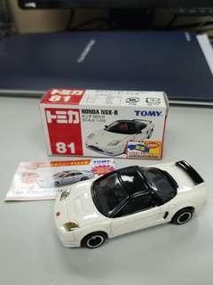 TOMICA TOMY No.81 HONDA NSX-R 有貼
