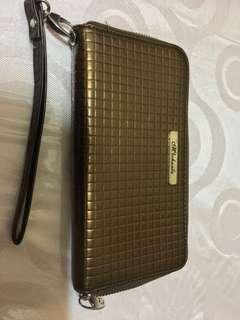Michaela gold wallet
