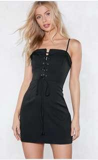 *REDUCED* BNWT black mini dress