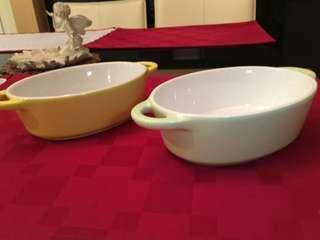 🚚 烘焙雙耳碗(2個)
