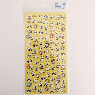 Mindwave Panda Stickers