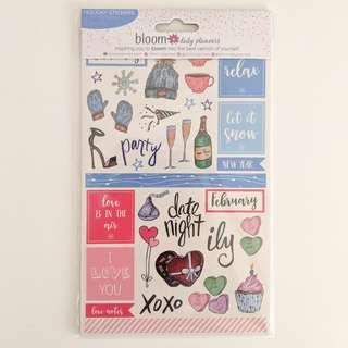 Bloom Holiday Planner Stickers