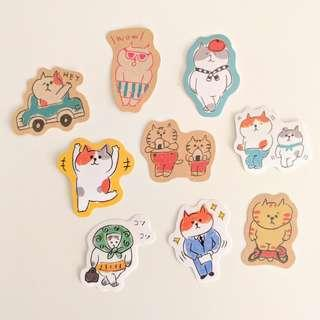Cat Sticker Set A