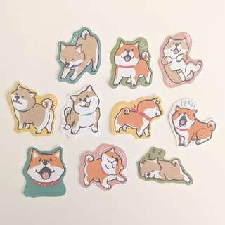 Dog Sticker Set A