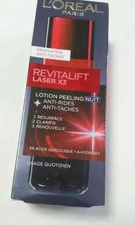 L'ORÉAL revitalift laser x3 lotion peeling night