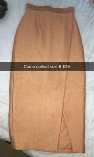 Camo collect skirt