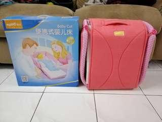 Multifunctional travel baby cot