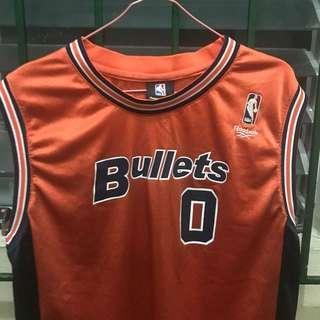 gilbert arenas - bullets jersey