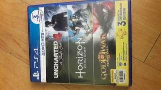 PS4 Games - Uncharted 4 + HZD