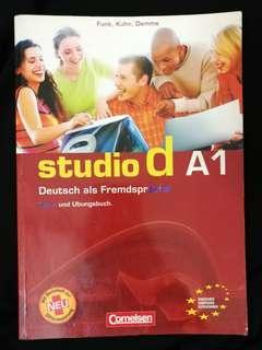 German as a foreign language (Studio d A1)