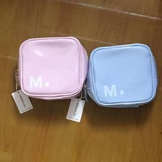 MINISO square cosmetic bag