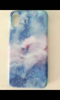 Brand new galaxy iPhone cover X