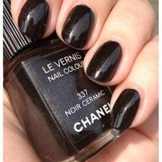 CHANEL Nail Colour , 337 Noir Ceramic. BNIB. Authentic. Limited Edition. RRP$40