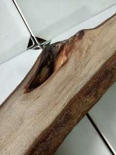 🚚 樟木 長型 自然風化 木座 木台