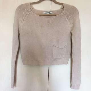 Forever 21 Chunky Sweater with Front Pocket