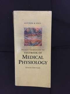 Guyton and Hall's Pocket Companion to the Textbook of Medical Physiology 10th Edition