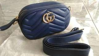 Tas New Waistbag/belt Gucci Kekinian Bahan Bagus Import