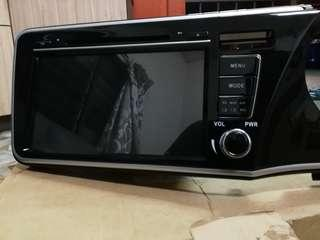 Honda city oem android player with speaker