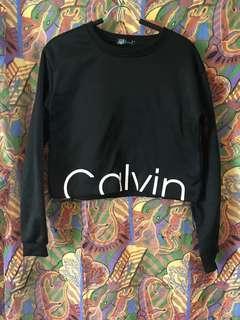 *Not Authentic* Calvin Klein Crop Jumper