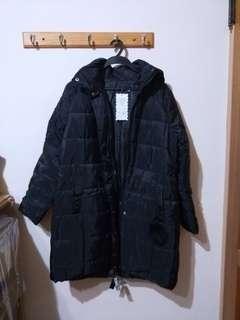 🚚 保暖長版輕舖棉外套