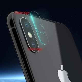 Apple iPhone X/XS/ XS Max Tempered Glass Camera Protector