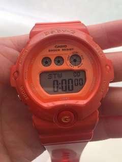 Baby G Watch Casio Orange
