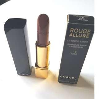CHANEL Rouge Allure Luminous Satin Lip Colour #16 Chic. BNIB. Authentic