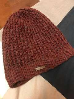 Roots maroon beanie