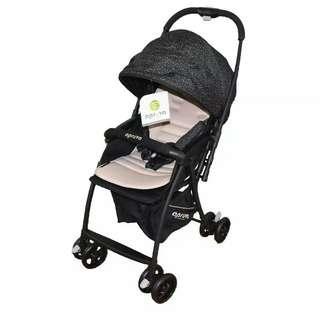 Apruva Black stroller