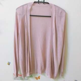 🚚 粉藕色 針織外套