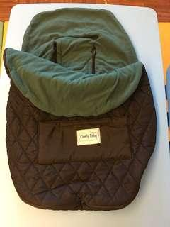 Keep your baby cozy and warm -stroller / car seat