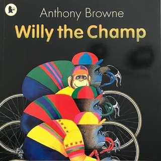 🚚 PL Willy the Champ - Anthony Browne