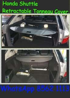 Honda Shuttle Retractable Tonneau Cover.( Not Soft Type) ( Ready stock)