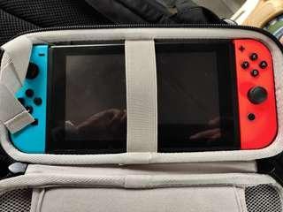 Switch 有盒齊配件 連四隻game