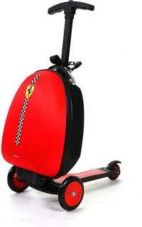 Ferrari Kids Scooter Luggage, Red