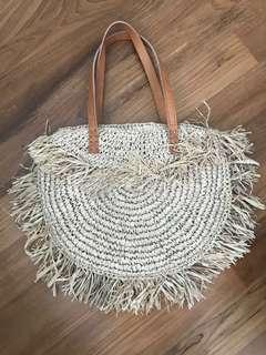 New Handmade Natural Straw Bag from Indonesia