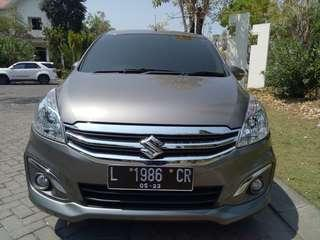Suzuki Ertiga 1.5 GX Automatic th 2016 Low KM istimewa
