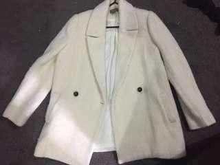 Sussan 10 Coat White