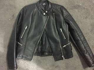 Leather jacket 10 dotti